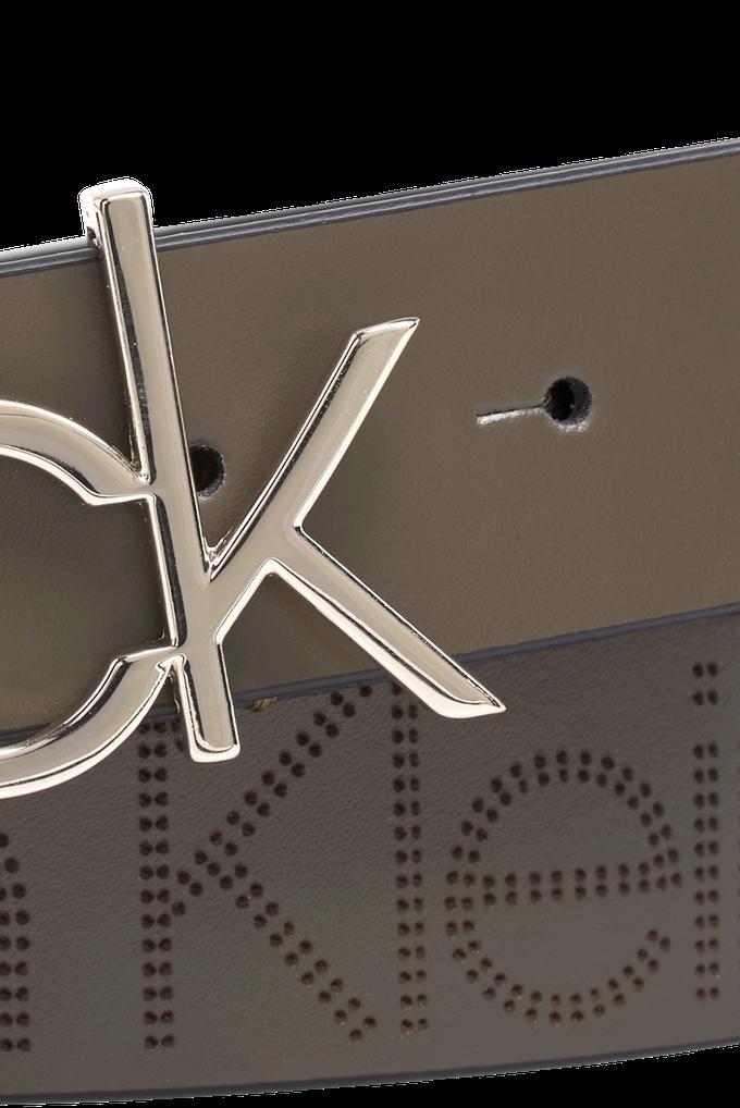 Calvin Klein Siyah %100 Deri Kadın Kemer