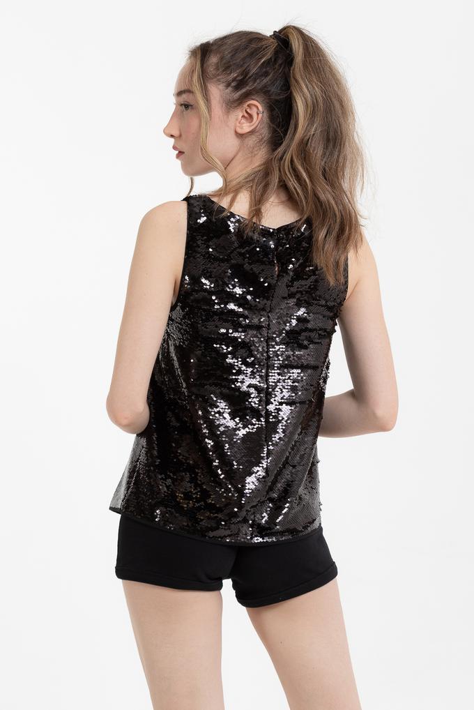 Emporio Armani Payet İşlemeli Kadın Bluz