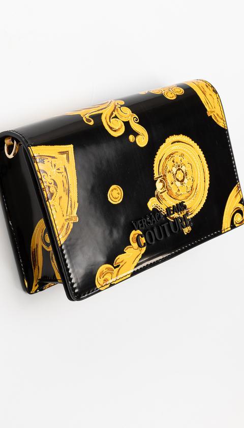 Versace Jeans Couture  Linea U Dis.9 Desenli Mini Omuz Çantası