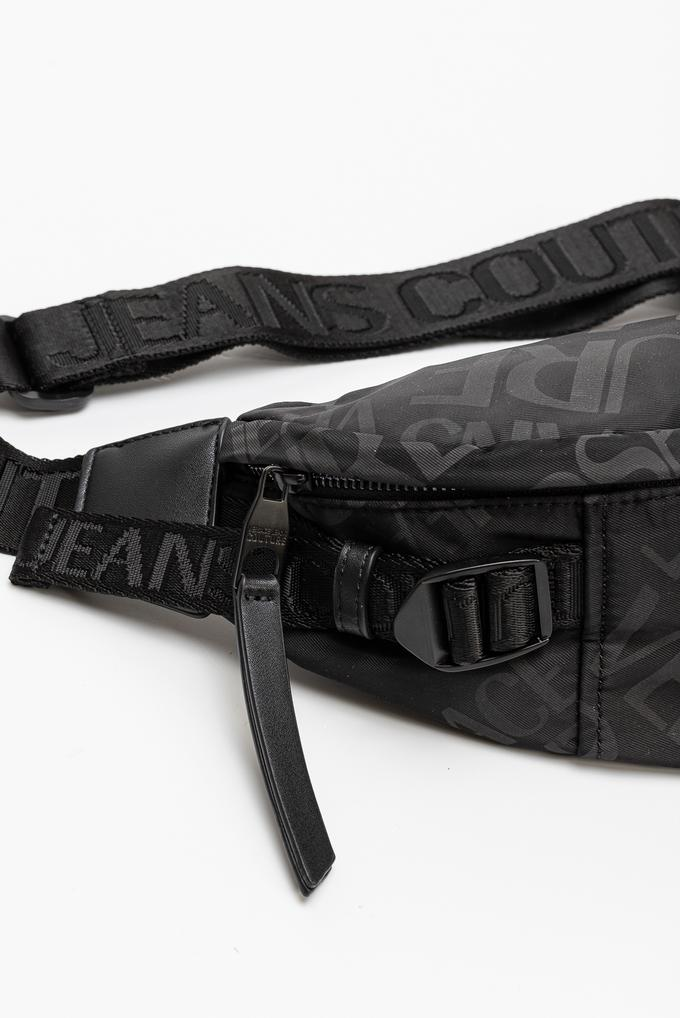 Versace Jeans Couture Linea Logo All Over Dis. 7 Erkek Bel Çantası
