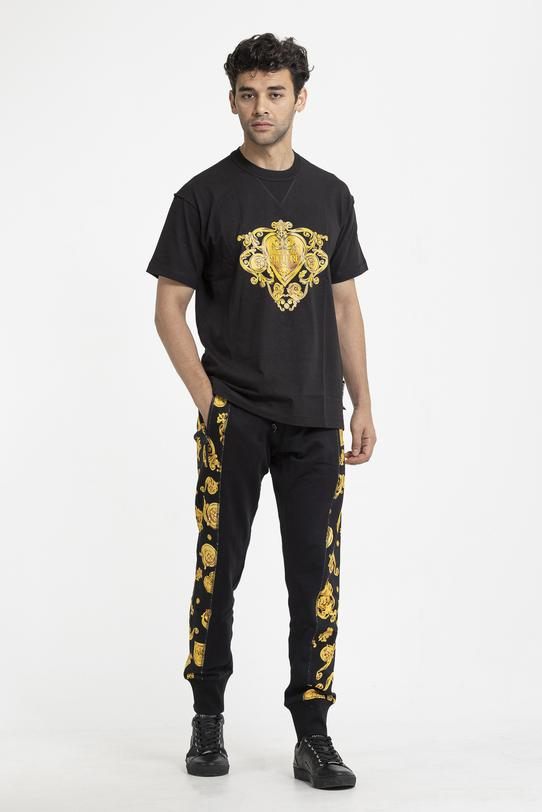 Versace Jeans Couture Fleece Print Gioielli Erkek Eşofman Altı