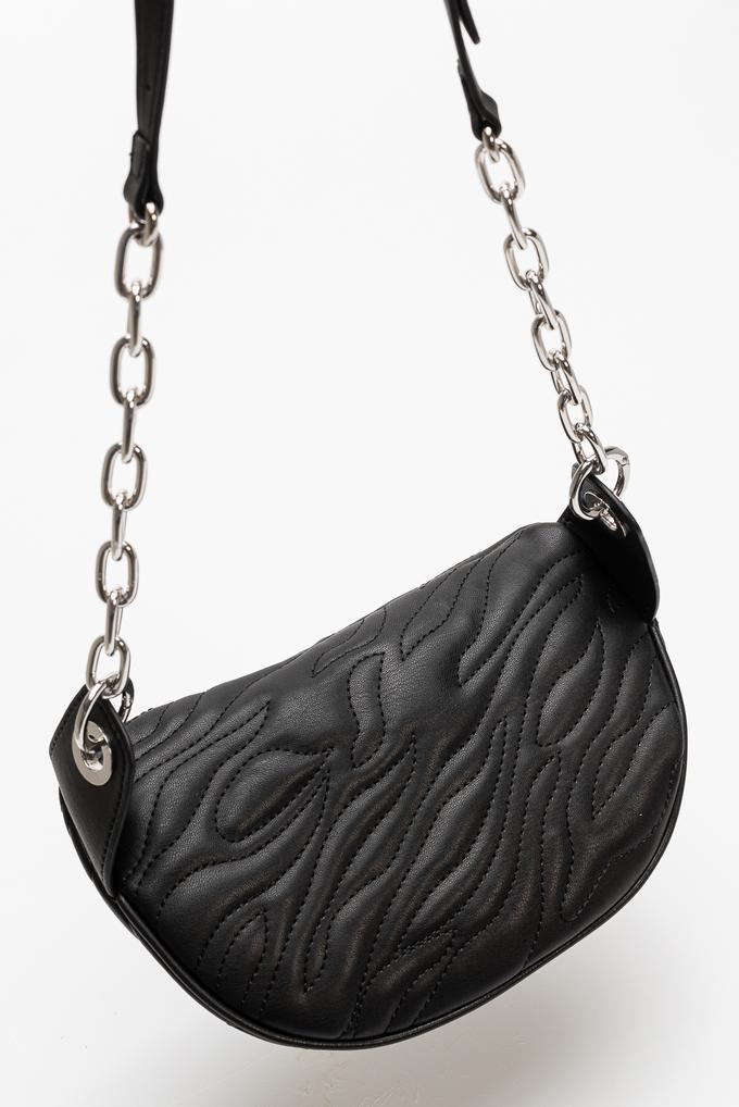 Versace Jeans Couture Nappa Tiger Quilted Kadın Bel Çantası