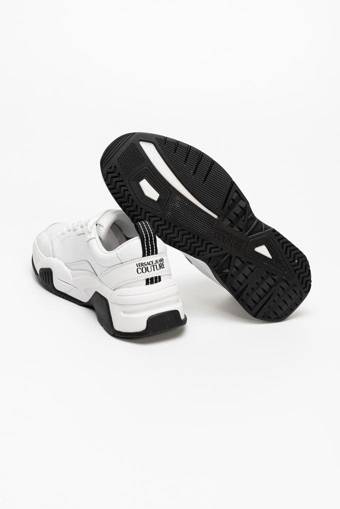 Versace Jeans Couture Linea Fondo Fire1 Dis. 2 Deri-Mesh Erkek Spor Ayakkabı