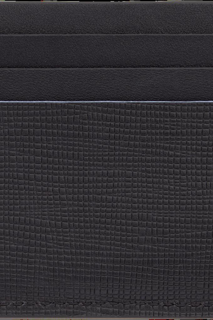 Calvin Klein Siyah %100 Deri Erkek Kartlık