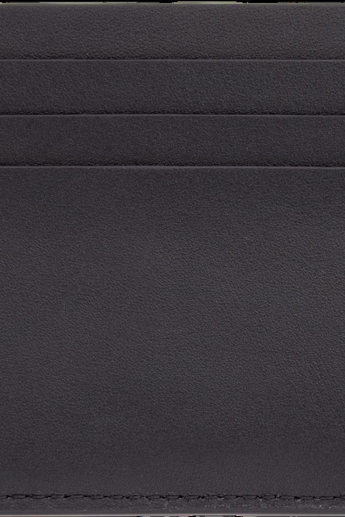 Calvin Klein %100 Deri CK Logo İmzalı Kartlık