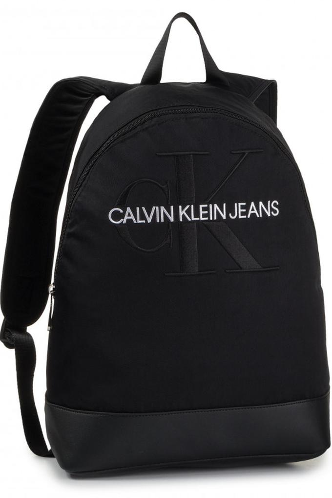 Calvin Klein CKJ Monogram Logo Baskılı Erkek Sırt Çantası