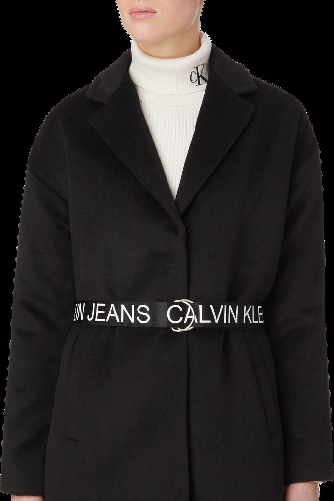 Calvin Klein Kadın Yünlü Blend Blazer Kaban