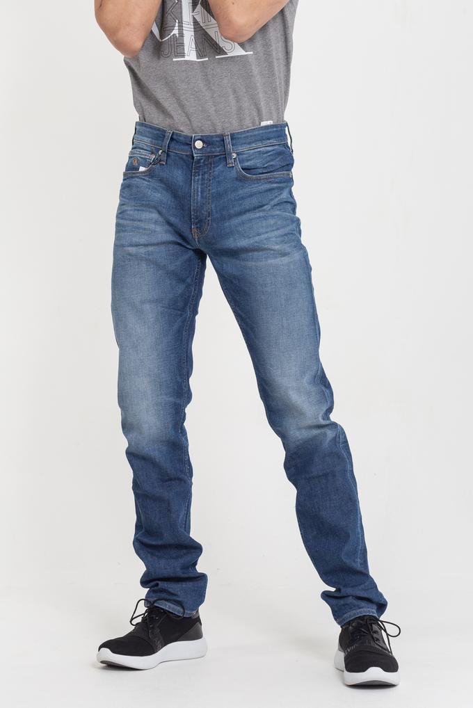 Calvin Klein Slim Fit Erkek Denim Pantolon