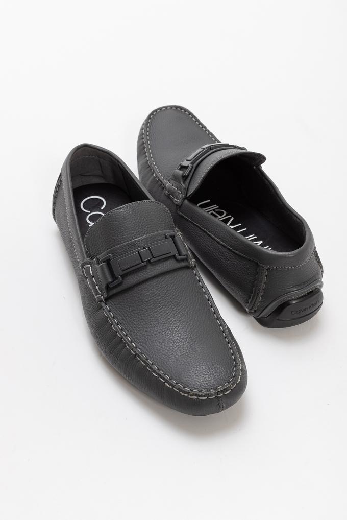 Calvin Klein Erkek Kwinten Deri Loafer
