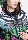 Versace Jeans Couture Desenli Tiger Brque Kapüşonlu  Kadın Rüzgarlık