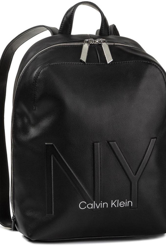 Calvin Klein NY Baskılı Kadın Sırt Çantası