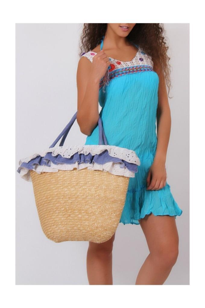 Lala Mia Kadın Plaj Elbise