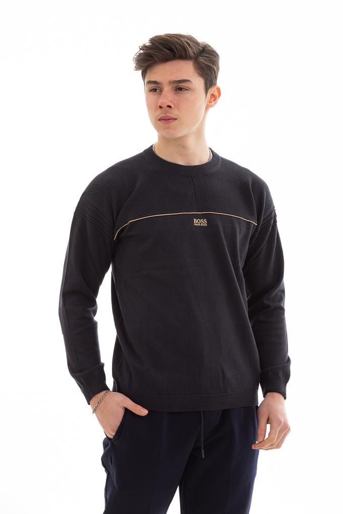 Hugo Boss Erkek Relaxed Fit Sweatshirt