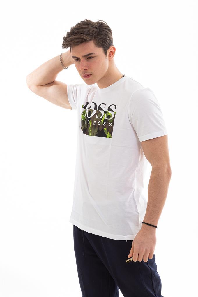 Hugo Boss Erkek New Logo Cotton T-Shirt