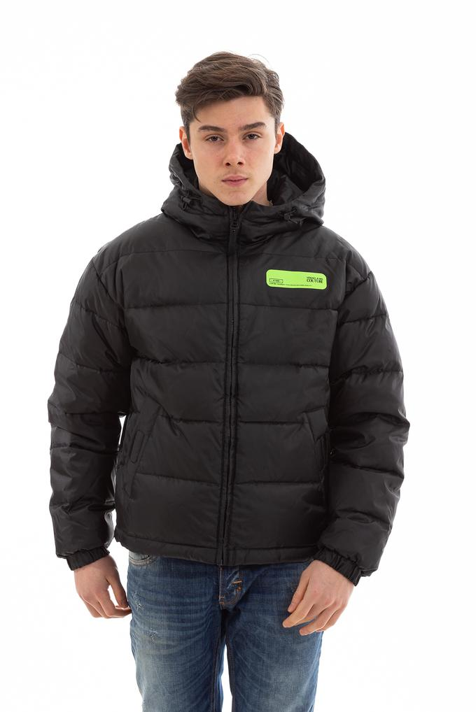 Versace Jeans Couture Erkek Quilted Hoodie Mont