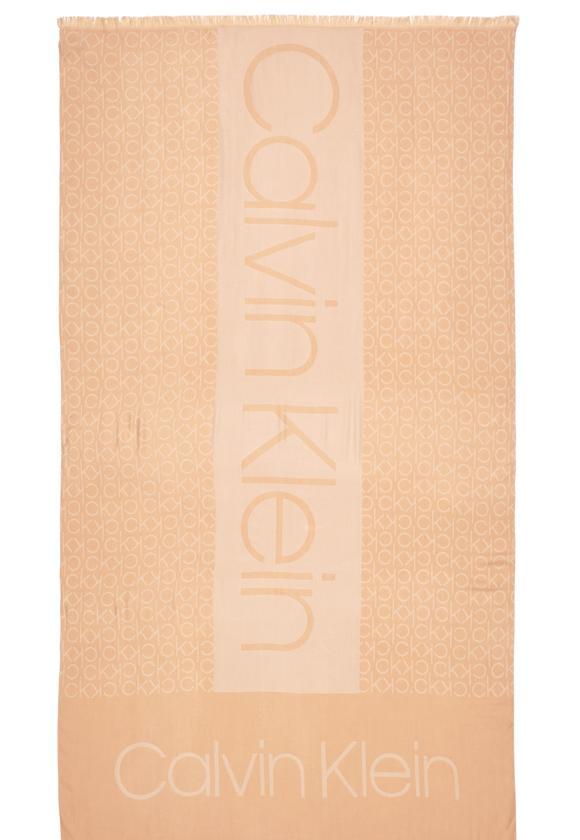 Calvin Klein CK Logolu Kadın Şal