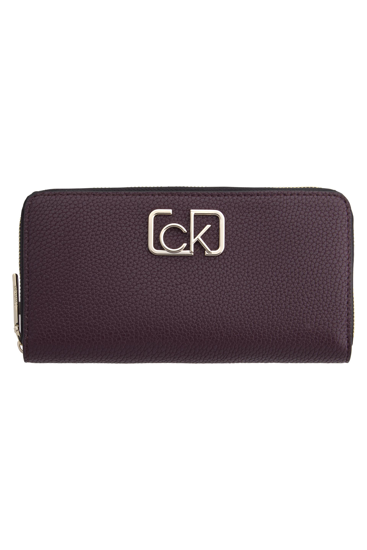 Calvin Klein Metal CK Logolu Kadın Cüzdan