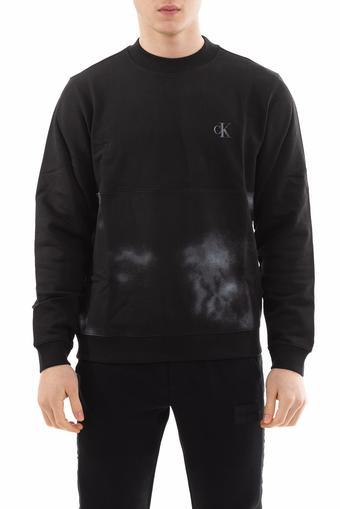Calvin Klein Cloud Print Erkek Sweatshirt