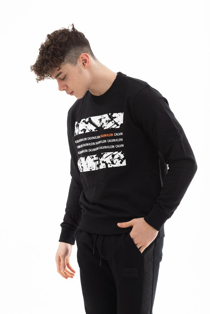 Calvin Klein Graphic Box Erkek Sweatshirt