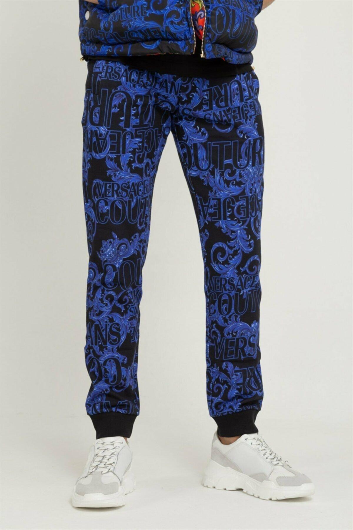 Versace Jeans Couture Baskılı Erkek Pantolon