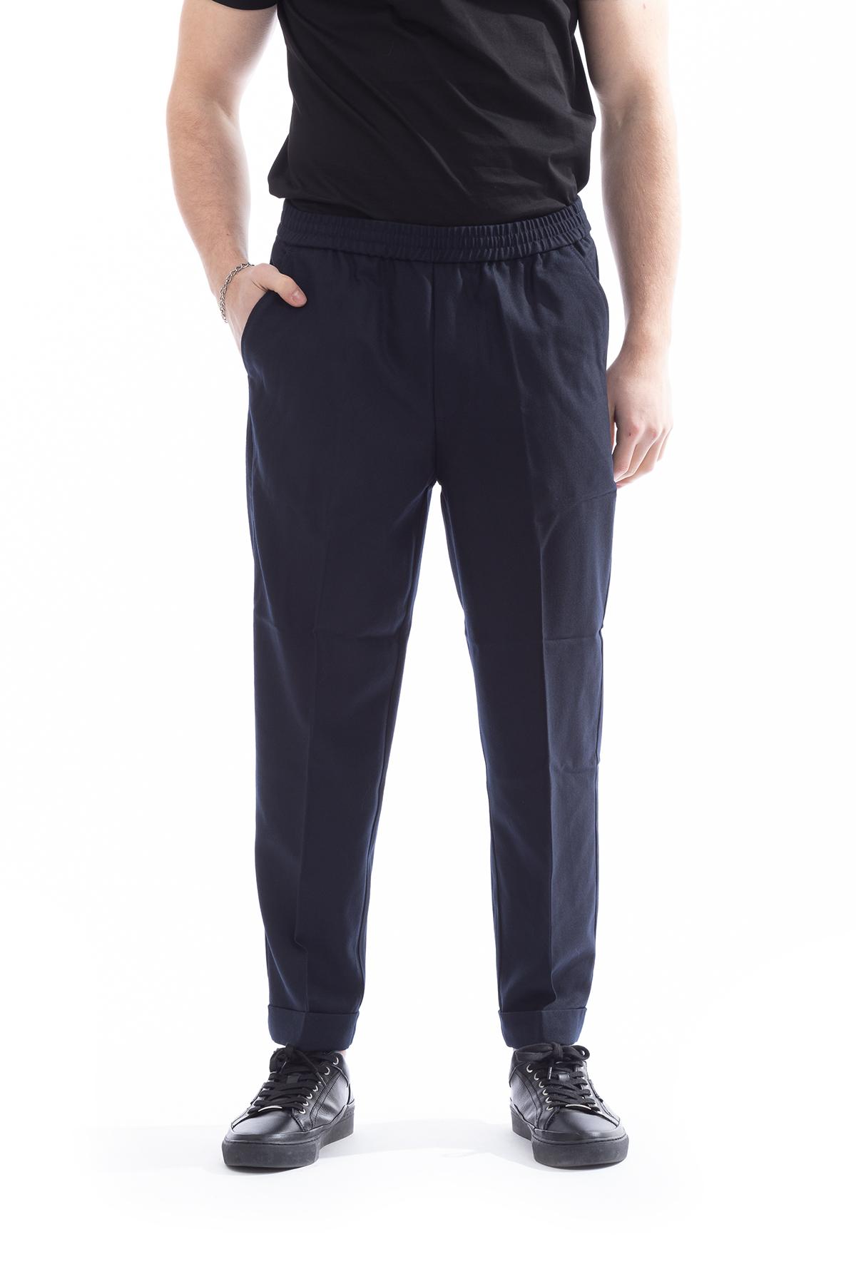 Emporio Armani Yün Karışımlı Erkek Pantolon