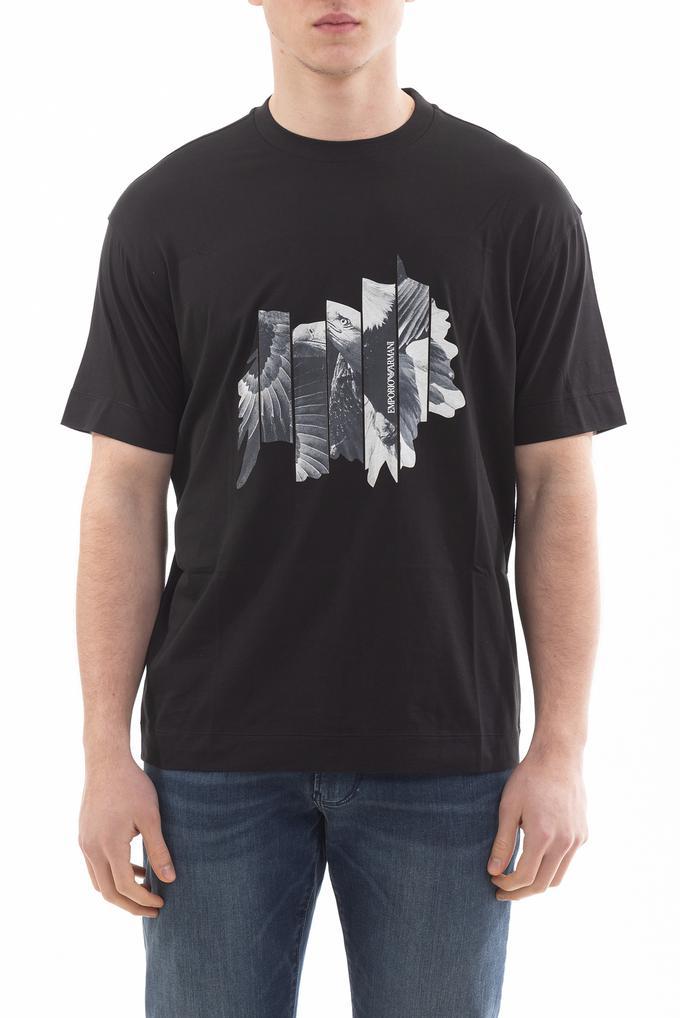 Emporio Armani Regular Fit Bisiklet Yaka Kısa Kollu Erkek T-Shirt