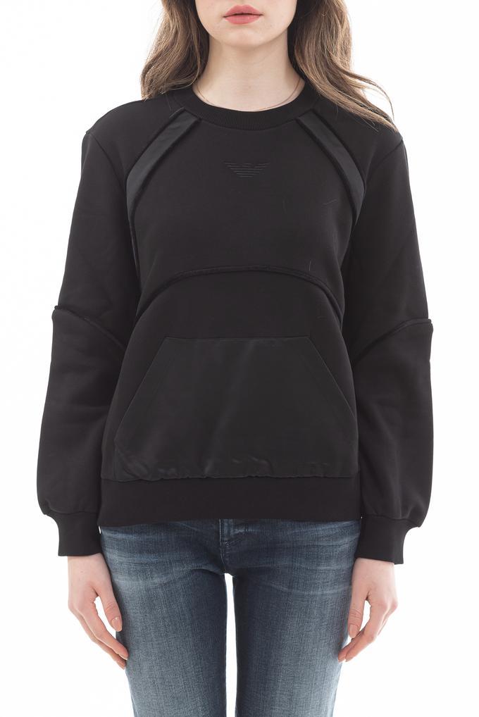 Emporio Armani Kanguru Cepli Uzun Kollu Kadın Sweatshirt