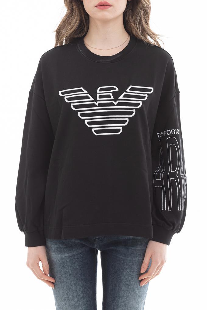 Emporio Armani Eagle Logo Kadın Sweatshirt