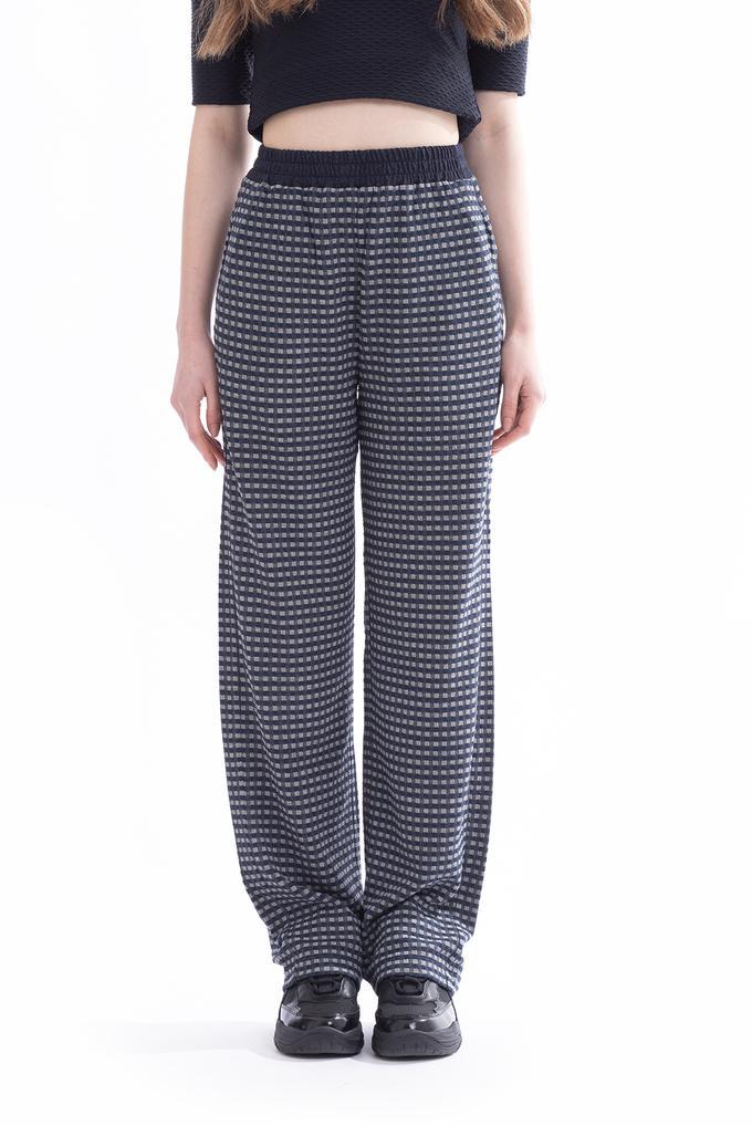 Emporio Armani Kadın Rahat Bel Bol Kesim Pantolon