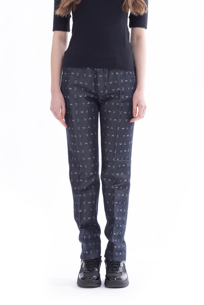 Emporio Armani 5 Cepli Slim Fit Kadın Jean Pantolon