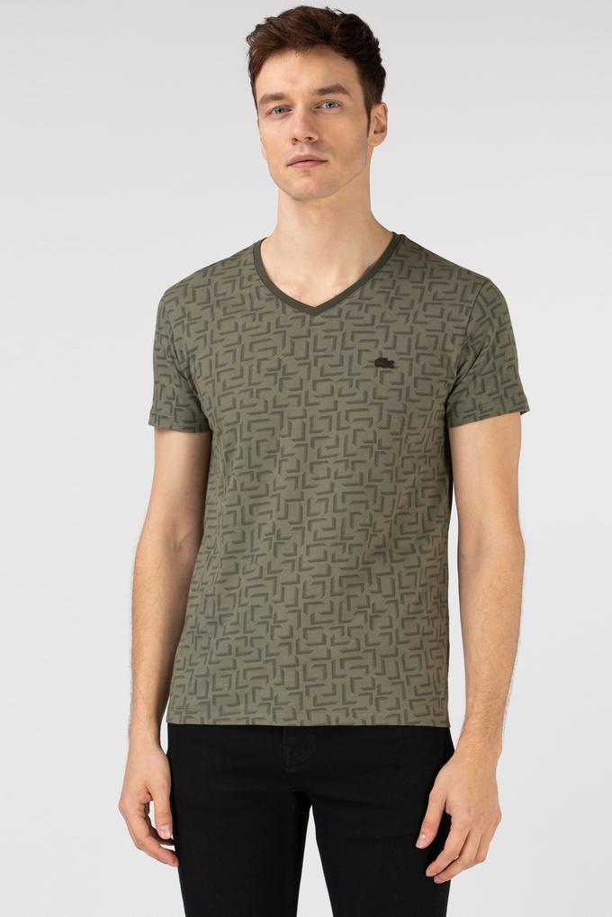 Lacoste Erkek V Yaka T-Shirt