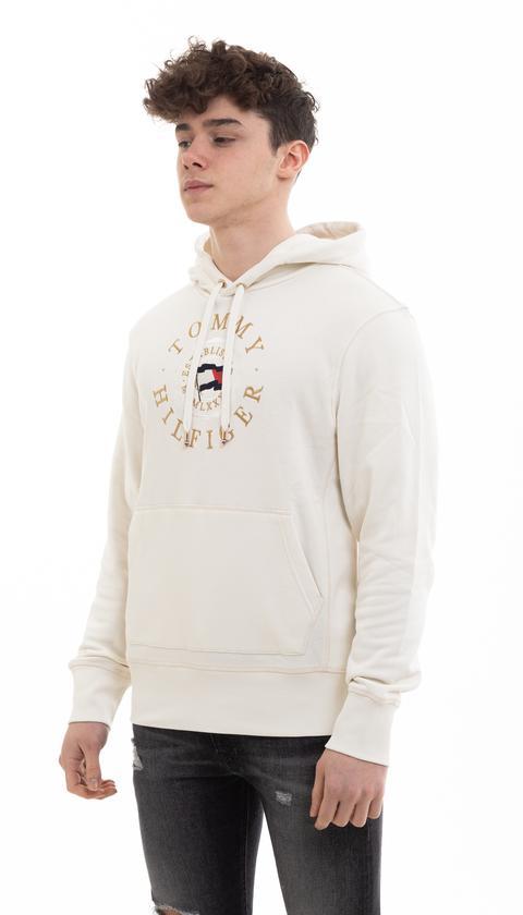 Tommy Hilfiger Erkek Kapüşonlu Sweatshirt