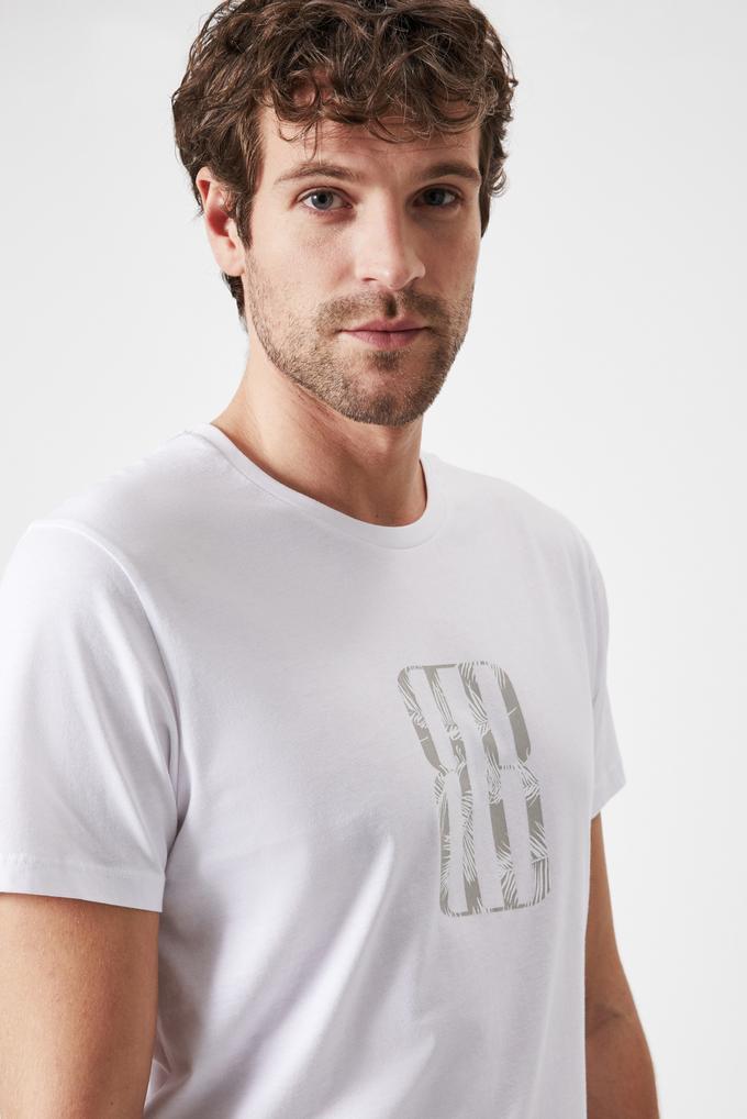 Boris Becker Erkek Baskılı T-shirt
