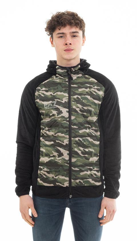 EA7 Erkek Fermuarlı Sweatshirt