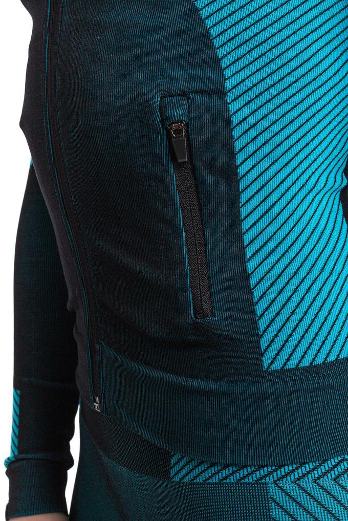 EA7 Kadın Fermuarlı Sweatshirt