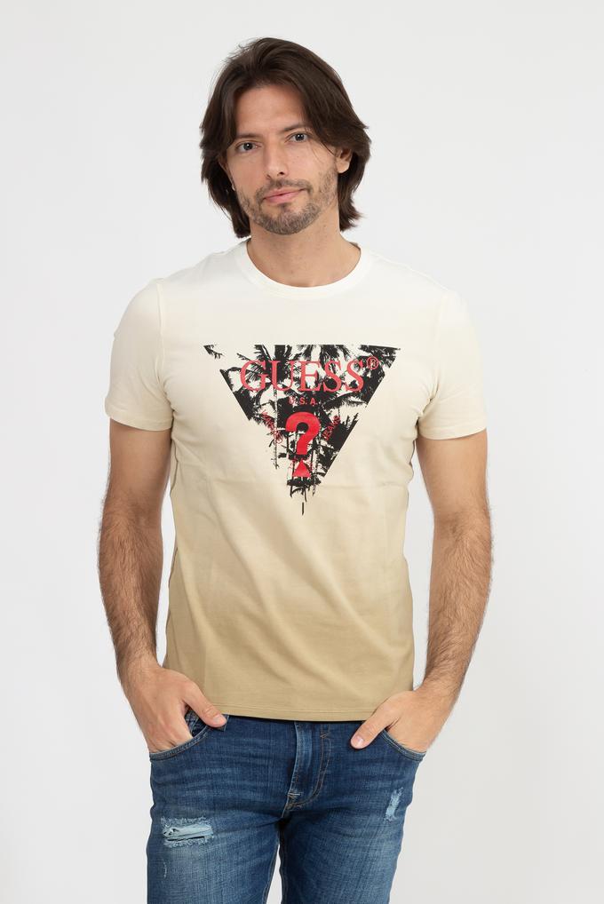 Guess Palm Beach CN SS Pamuklu Erkek T-Shirt