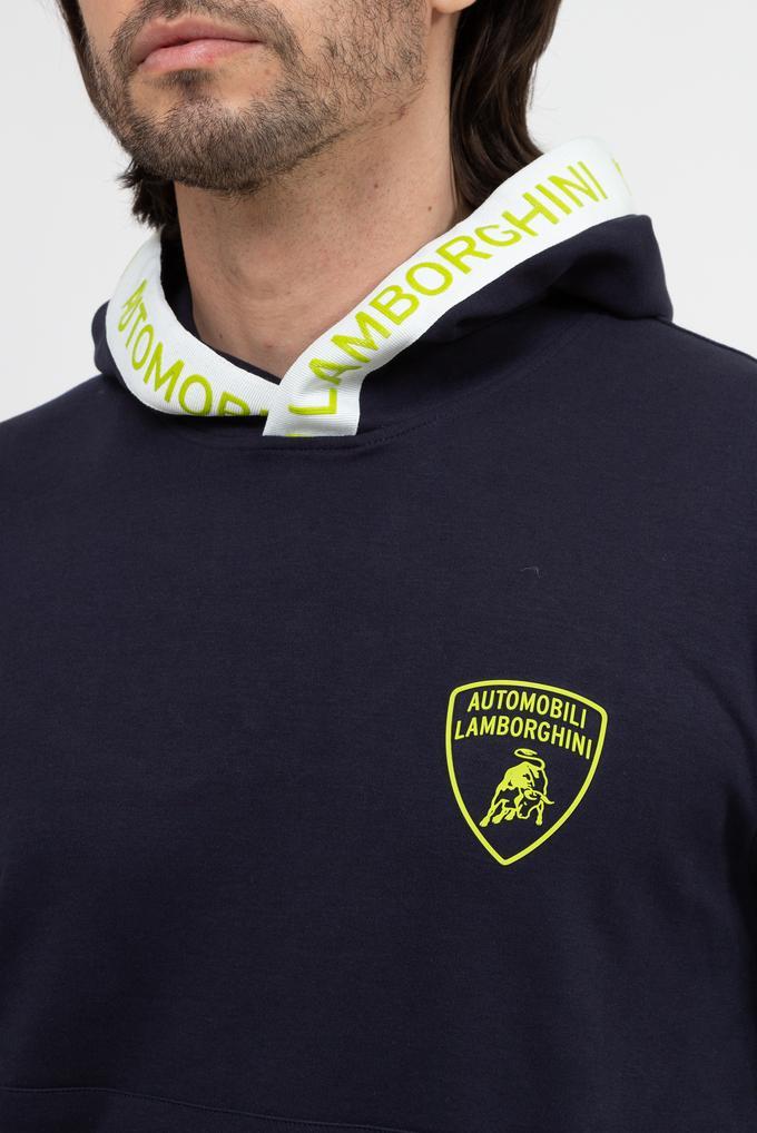 Lamborghini Erkek Kapüşonlu Sweatshirt
