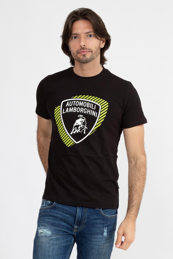 Lamborghini Erkek Bisiklet Yaka T-Shirt