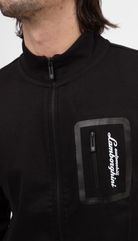 Lamborghini Erkek Fermuarlı Sweatshirt