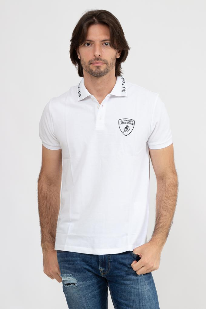 Lamborghini Erkek Polo Yaka T-Shirt