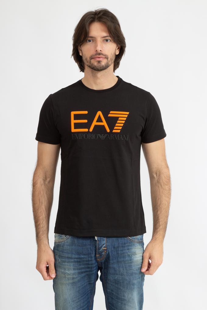 EA7 Erkek Bisiklet Yaka T-Shirt