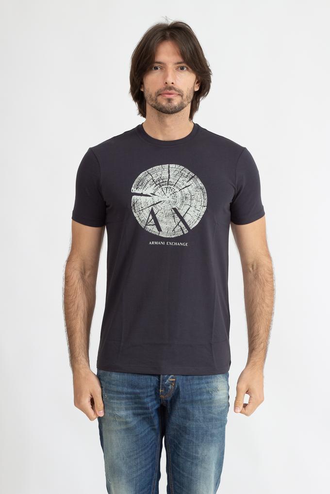 Armani Exchange Erkek Bisiklet Yaka T-Shirt