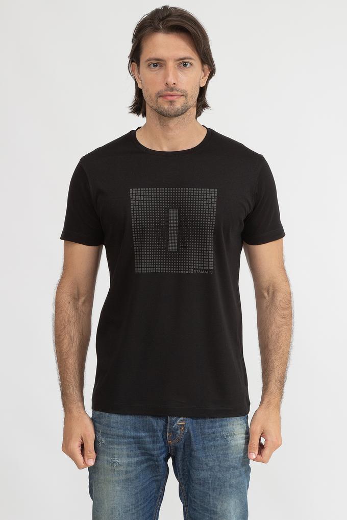 Stamati's Erkek Bisiklet Yaka T-Shirt
