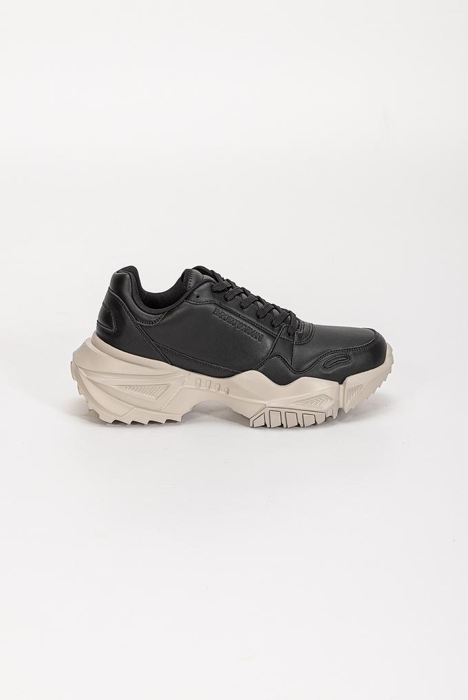 Emporio Armani Kalın Taban Erkek Sneaker