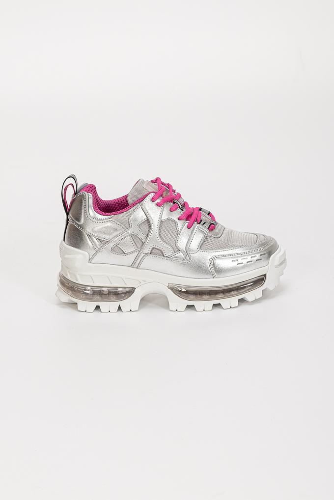 Emporio Armani Eko Deri Kalın Taban Kadın Sneaker
