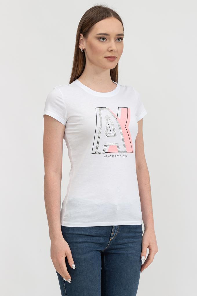 Armani Exchange Kadın Bisiklet Yaka T-Shirt