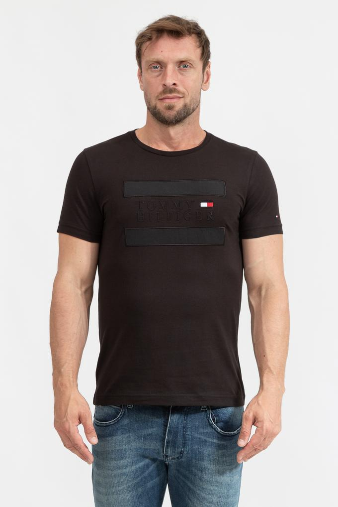 Tommy Hilfiger Erkek Bisiklet Yaka T-Shirt