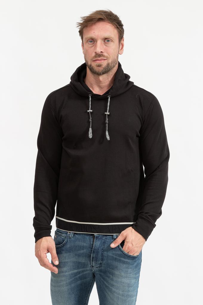Emporio Armani Erkek Kapüşonlu Sweatshirt
