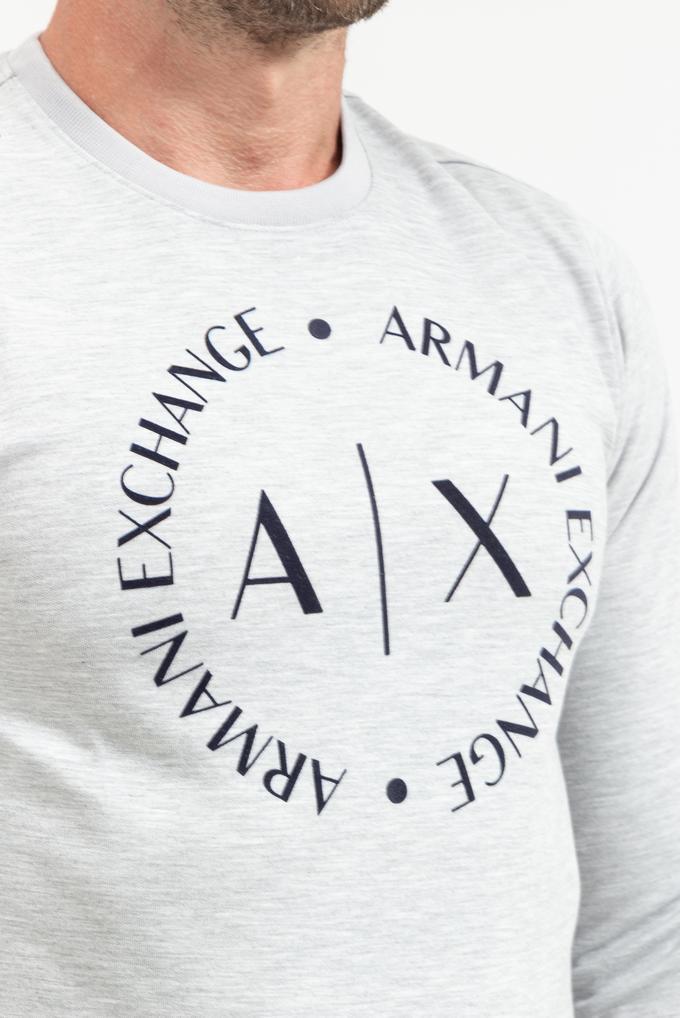 Armani Exchange Erkek Bisiklet Yaka Sweatshirt