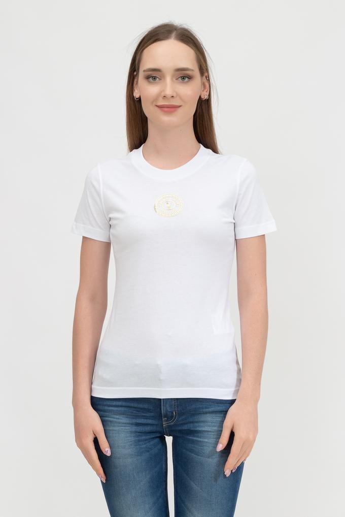 Versace Jeans Couture Kadın Bisiklet Yaka T-Shirt